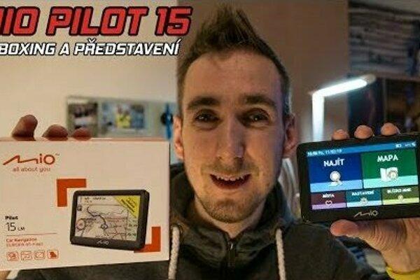 Autonavigacie Mio Pilot 15 v testu youtubera Majkla!
