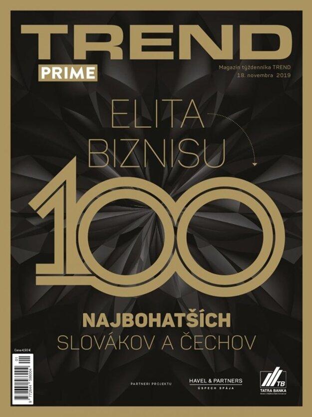 Obálka TREND Prime (november 2019)