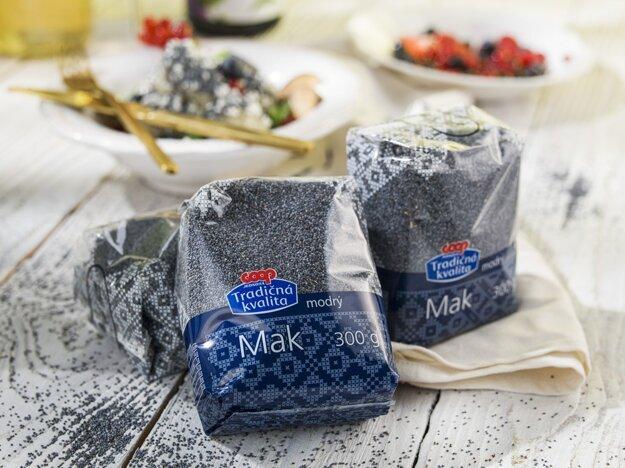 Spotrebitelia si zvolili mak modrý značky COOP Jednota za jeden z najlepších výrobkov na trhu privátnych značiek.