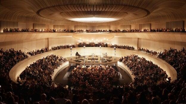 Multifunkčná hala - akustický koncert.