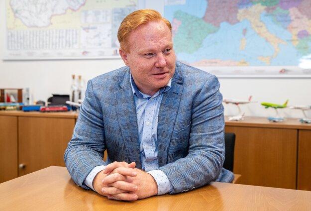 Ľubomír Loy, člen predstavenstva jednej z najvýznamnejších zasielateľských spoločností strednej a východnej Európy BUDAMAR LOGISTICS.