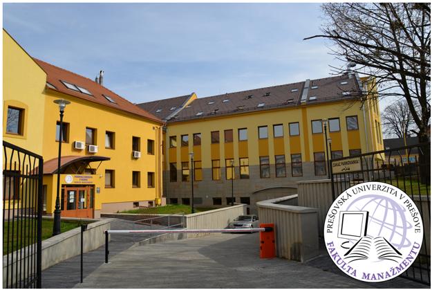Komplex budov Fakulty manažmentu PU v Prešove