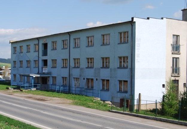 Budova pred rekonštrukciou
