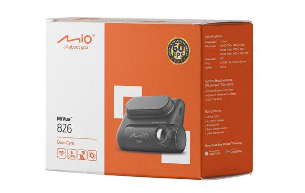 Integrovaná WiFi pro sledování a zálohování záznamu v reálném čase - autokamera Mio MiVue 826 WIFI