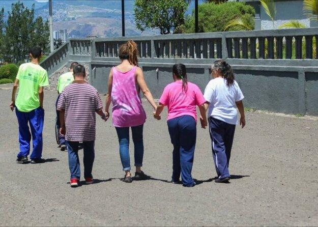 Projekt v Hondurase.