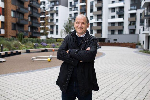 Milan Murcko na dvore v projekte STEIN2