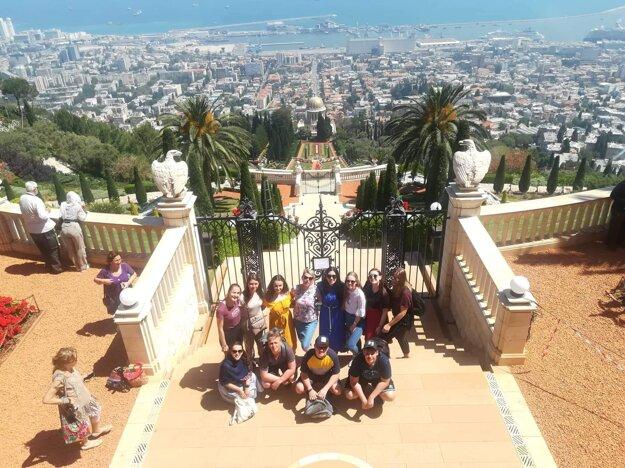 Bahajské záhrady v Haife.