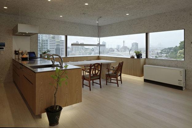 Rodinný dom Yokohama, Japonsko, architekt Takuya Tsuchida