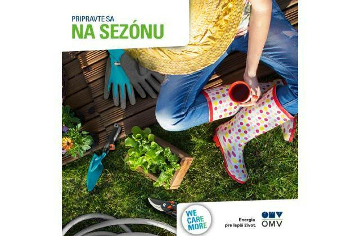 6251b4c7eecc Užite si jar v záhrade s OMV - tlacovespravy.sme.sk