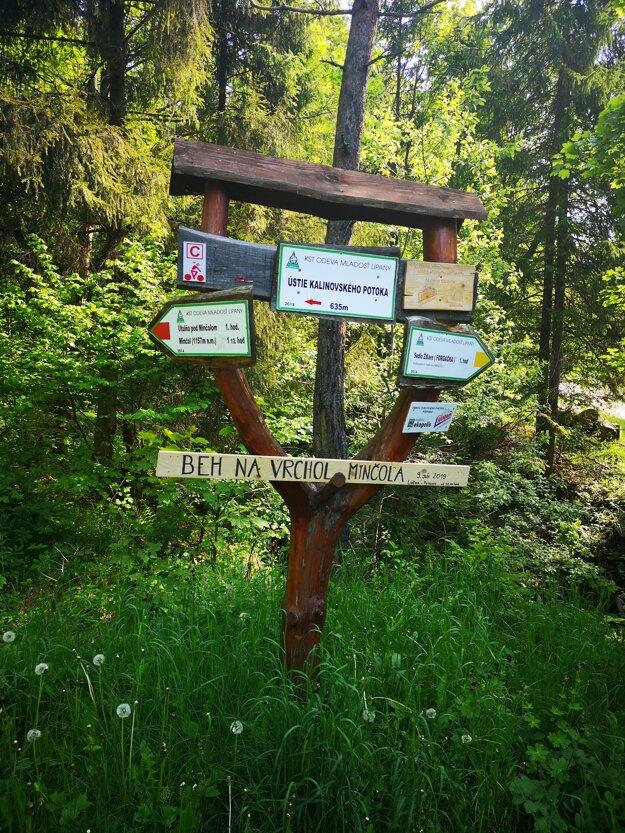 Projekt Revitalizácia prístupovej cesty k útulni na Minčole realizuje KTS Mladosť ODEVA Lipany, n.o