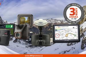 3 roky záruky a VIP servis: MIO autokamery a navigace patří mezi TOP produkty