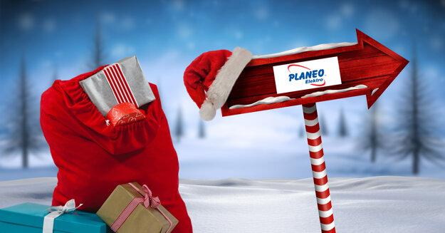 Planeo Elektro rozdáva 1000 darčekov vo vianočnej súťaži