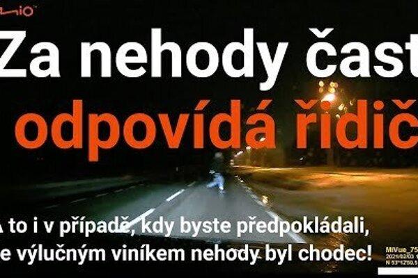 Nehoda s chodcom! Vodič je takmer vždy vinníkom nehody - radšej majte vlastný dôkaz o nehode!