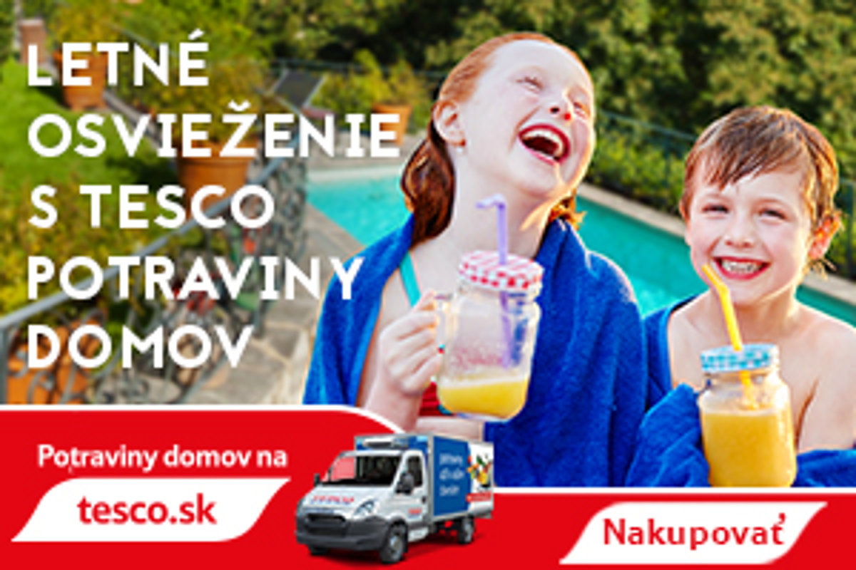 b8009bffd0c6 Tesco Potraviny domov vás toto leto pekne schladí - tlacovespravy.sme.sk