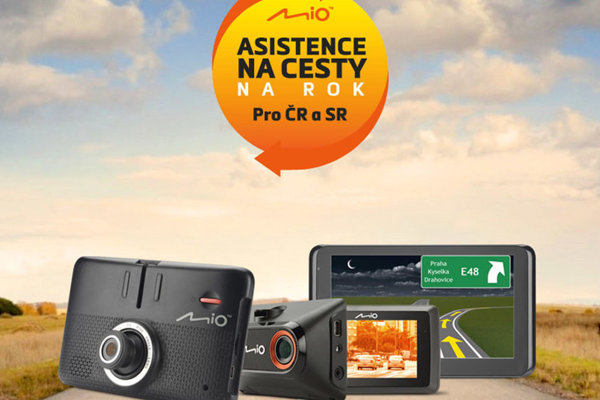 Mio Asistencia na cesty pre majiteľov nových autokamier a navigácií značky Mio