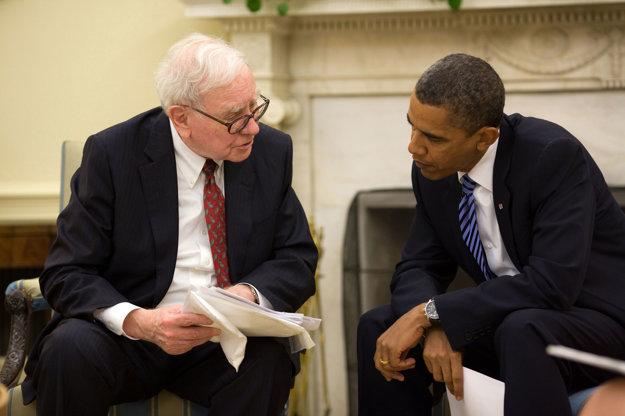 Warren Buffett s Barackom Obamom.