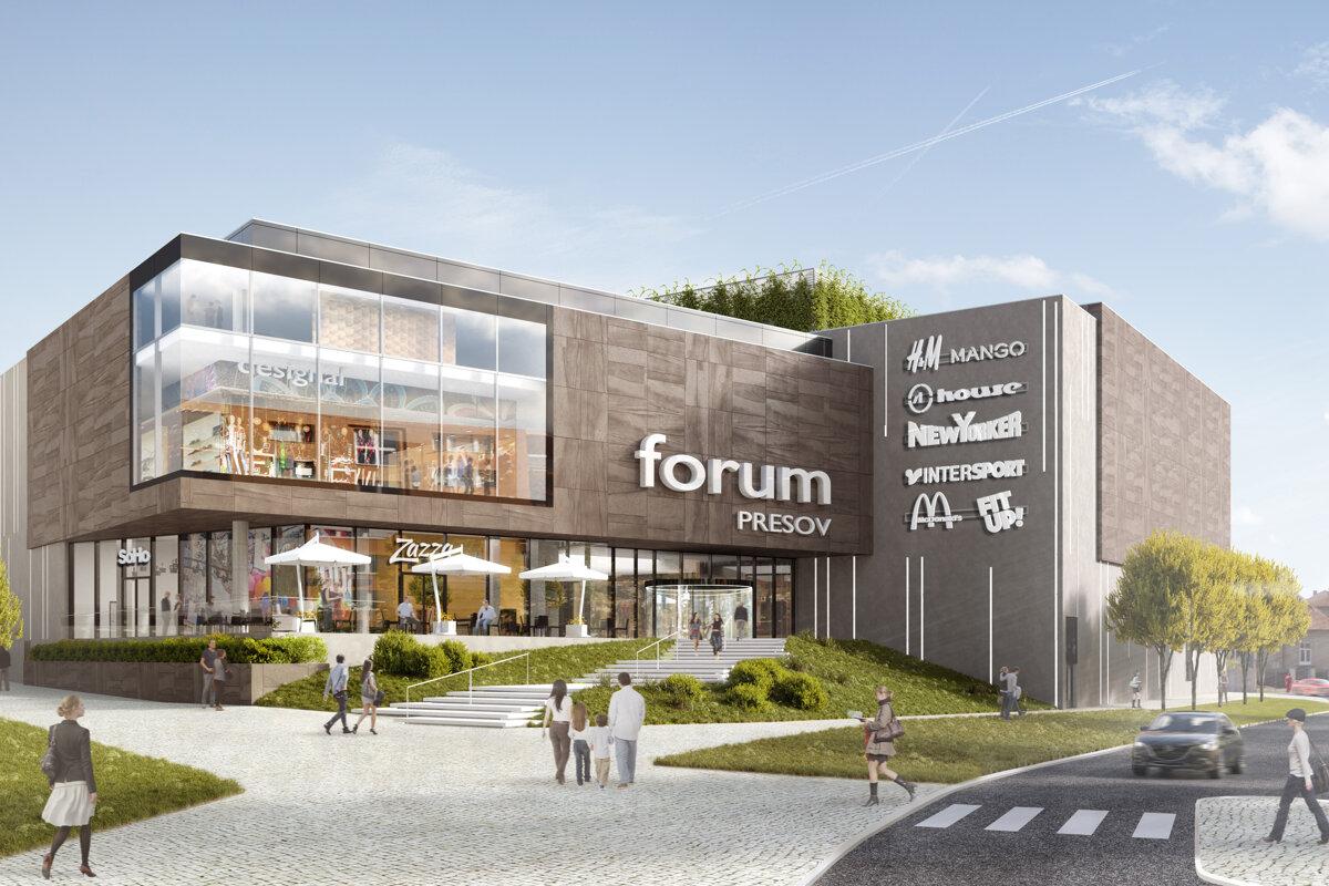 0dc42929f Forum Prešov má platné stavebné povolenie a začína s výstavbou -  tlacovespravy.sme.sk