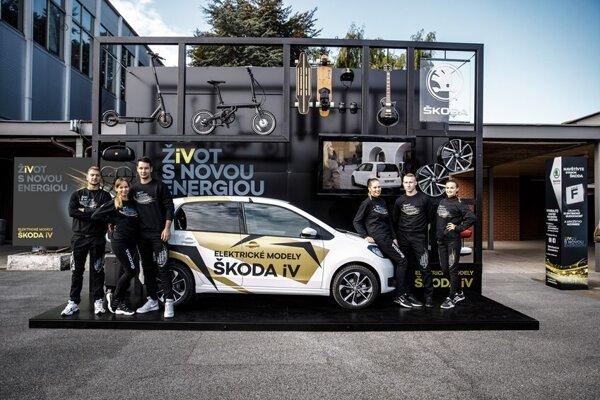 ŠKODA na autosalóne odštartovala svoju éru elektromobility na Slovensku najdostupnejším elektrickým vozidlom CITIGO iV
