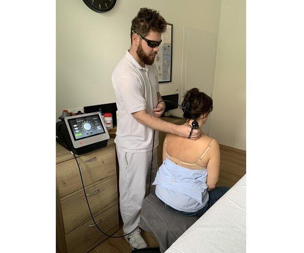 Ošetrenie krčnej chrbtice