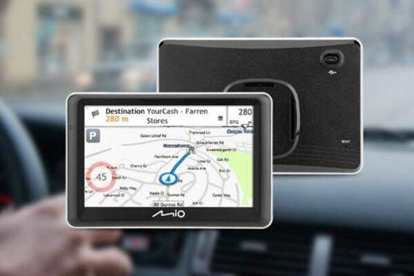 Mio Spirit 7700 má magnetický držák a aktualizace map zadarmo