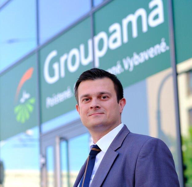 Ladislav Gajdoschik, riaditeľ poisťovne Groupama.