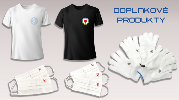 Dopnky, tričká, rúška, rukavice - yzop.sk