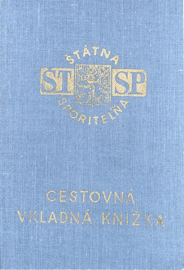 Cestovná vkladná knižka Štátnej sporiteľne