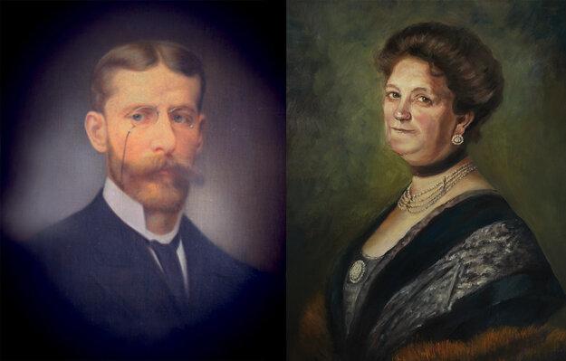 Johann a Pauline Hubert Zdroj: Hubert J.E.