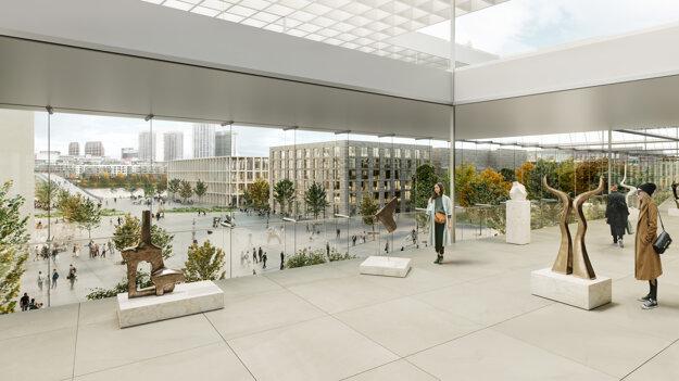 Multifunkčné centrum ponúkne aj nový priestor pre umenie