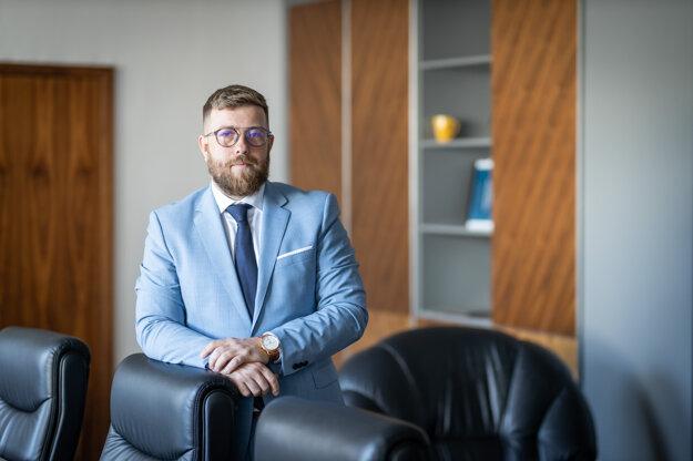Tomáš Lamprecht, riaditeľ Štátneho fondu rozvoja bývania.