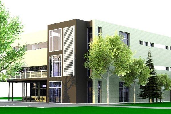 Komfortné a variabilné priestory s bezbariérovým prístupom budú využívať študenti SPU v Nitre, ale aj široká verejnosť