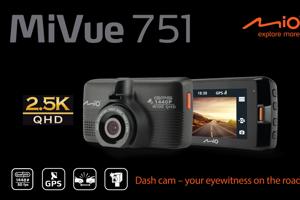 Autokamera Mio MiVue 751 pre jazdu bez strachu