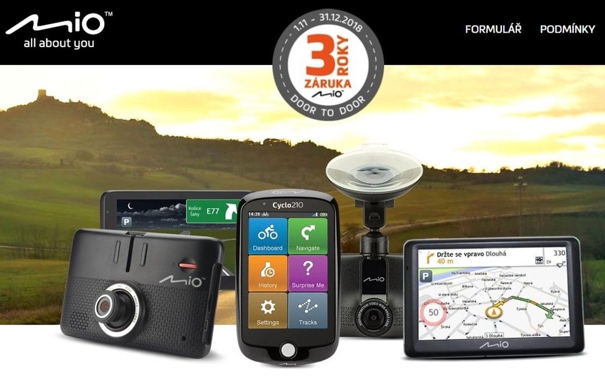 dc1e558cd Autokamery Mio a navigace teď s 3letou záruční dobou - tlacovespravy ...