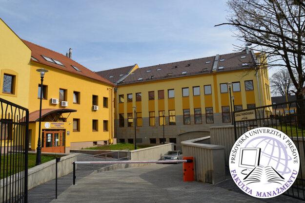 Komplex budov Fakulty manažmentu Prešovskej univerzity vPrešove
