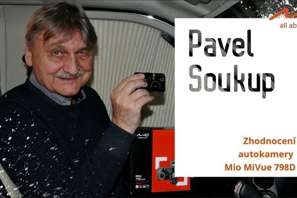 Dabér a herec Pavel Soukup testoval autokameru Mio MiVue 798 wifi 2.5k! Co na ni říká?