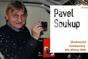 Herec a dabér Pavel Soukup: můj test autokamery Mio MiVue 798