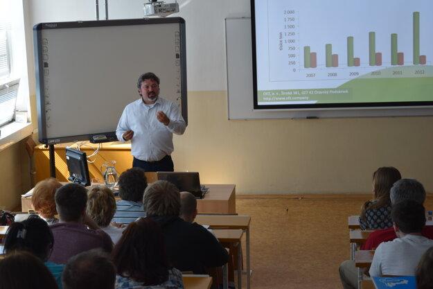 Prednáška Ing. Klocoka