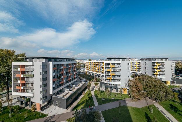 Projekt NUPPU s ústredným dvorom v bratislavskom Ružinove