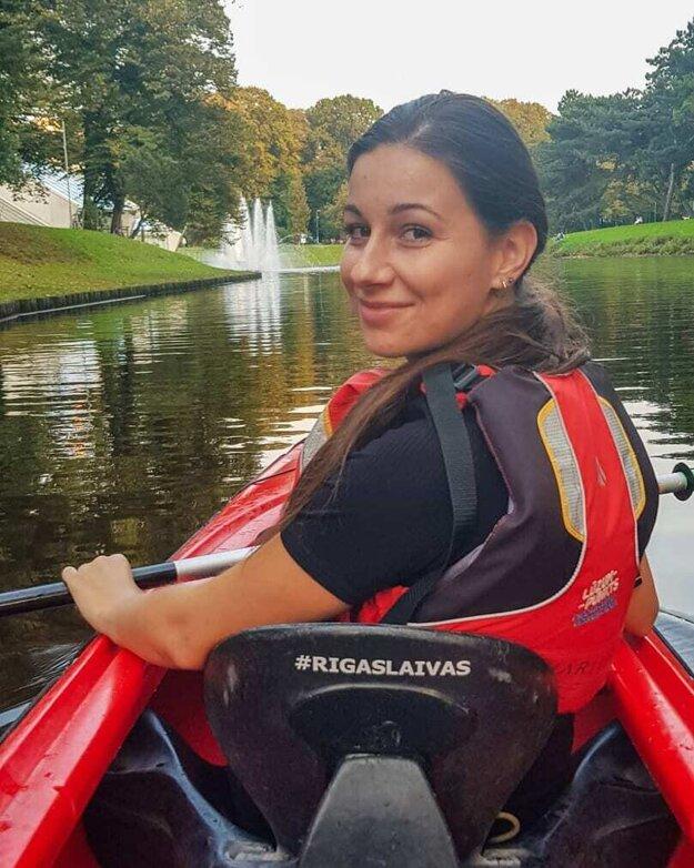 Kristína Ďugasová v Rige - zahraničný pobyt samozrejme nie je len o štúdiu, ale patrí k nemu aj kultúra a spoznávanie nových ľudí či miest.