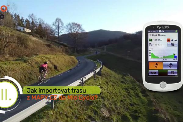 Ako môžem importovať cyklotrasu do cyklonavigácie Mio Cyclo?