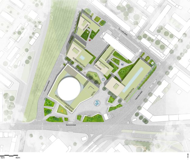 Čo bude obsahovať nová štvrť?