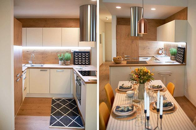 Aj takto môže vyzerať vaša kuchyňa