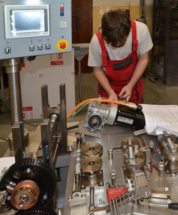 Výroba baliacich automatov