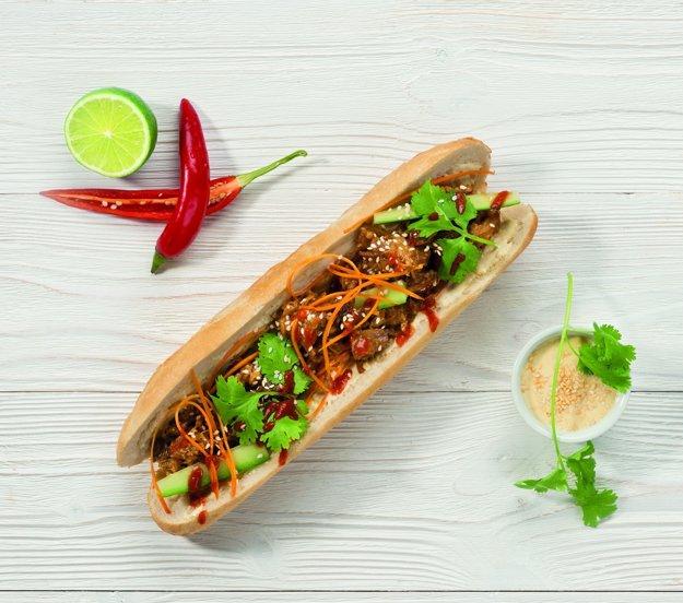 Bageta Bánh mi od českého šéfkuchára Filipa Sajlera