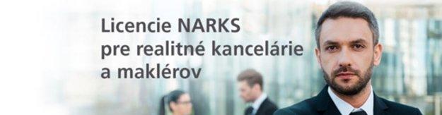 Licencovaný realitný maklér NARKS