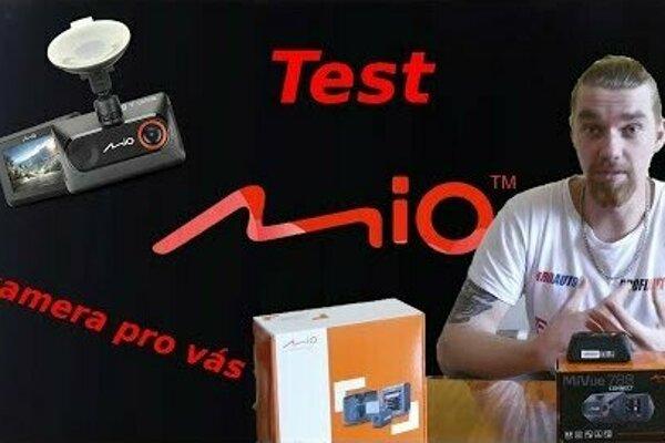 Autokamera Mio MiVue 788 Connect v tvrdém testu youtubera Bez Komprese!