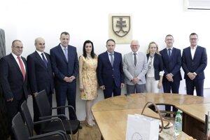 Prijatie delegácie z Tishreen University
