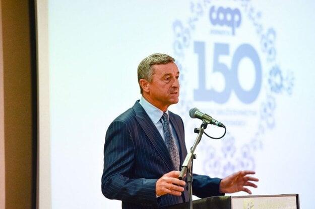 Význam spotrebných družstiev pripomenul generálny riaditeľ COOP Jednoty Slovensko Ján Bilinský.