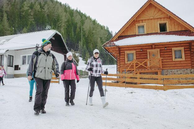 Ľadový expres sobľubou využívajú aj turisti, pre ktorých je každý týždeň pripravená iná trasa aj so sprievodcami.