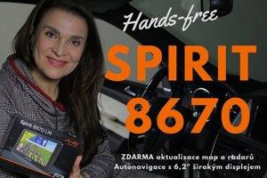 UNBOXING a recenze skvělé autonavigace Mio Spirit 8670 Full EU Lifetime!